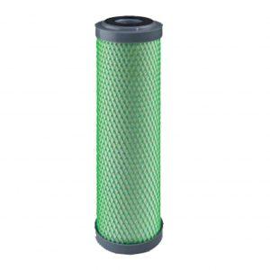 Cartucho filtrante para agua potable en bloque de carbón activado con poros de 5 micras