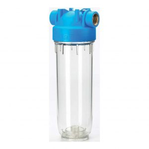 Carcasa filtrante para agua potable